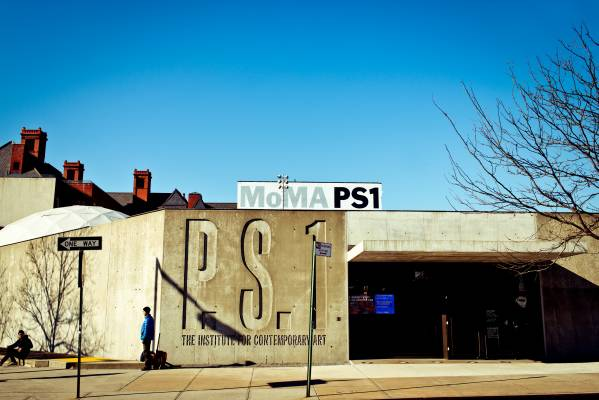 The award-winning entrance to MoMA PS1