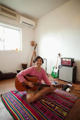 Yusuke Hashizume in his music room