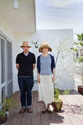 Isao (left) and Sayuri Oshiro