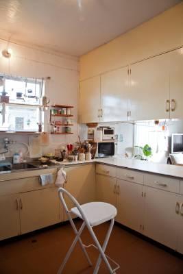 Kitchen at the Maejimas' house