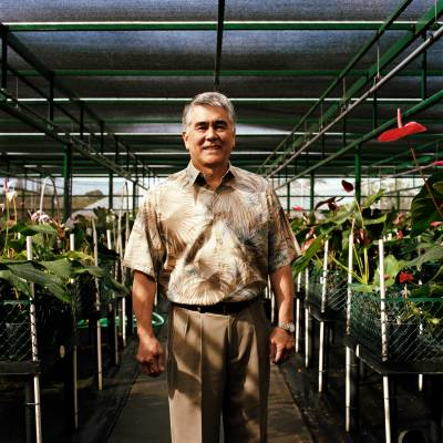Andrew Hashimoto, dean of the College of Tropical Agriculture at University of Hawaii