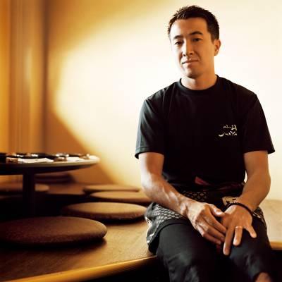 Masayuki Kobayashi at Miyabi restaurant