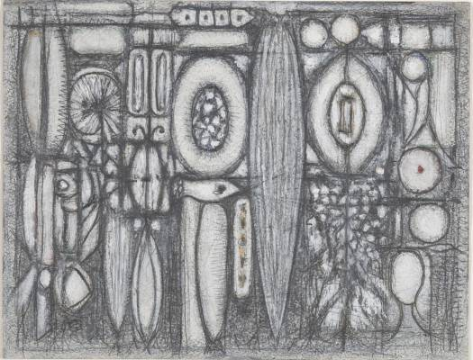 Philadelphia Museum of Ar welcomes the exhibition Full Circle: Works on Paper by Richard Pousette-Dart