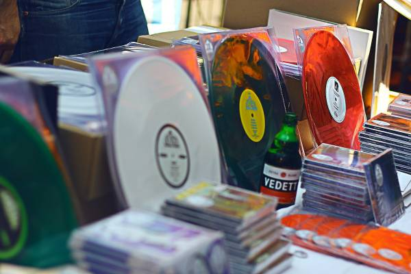 Shop for the best music at London's Independent Label Market