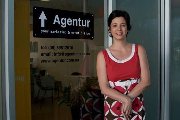 Britta Decker, who with her partner Marijana Joerder, runs PR company Agentur