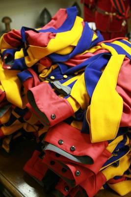 Finished uniforms