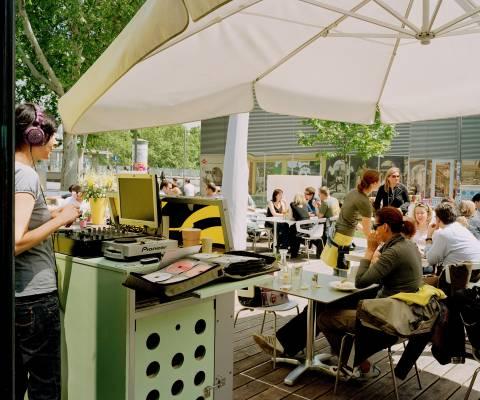 Kunsthallen Cafe at Karlsplatz