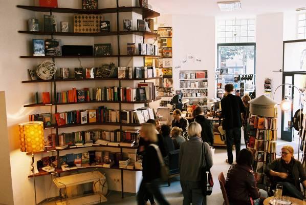 Phil bookshop on Gumpendorferstrasse