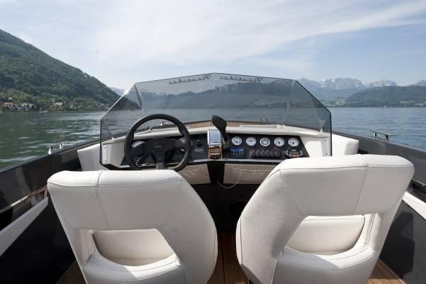 No. 03: A Frauscher motor boat