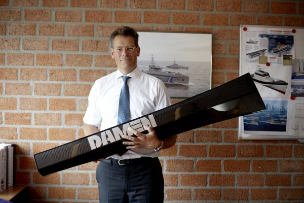 Jaap Gelling, product director of high-speed and naval craft