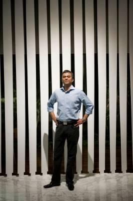 Rahul Saraf, developer of the Atmosphere building