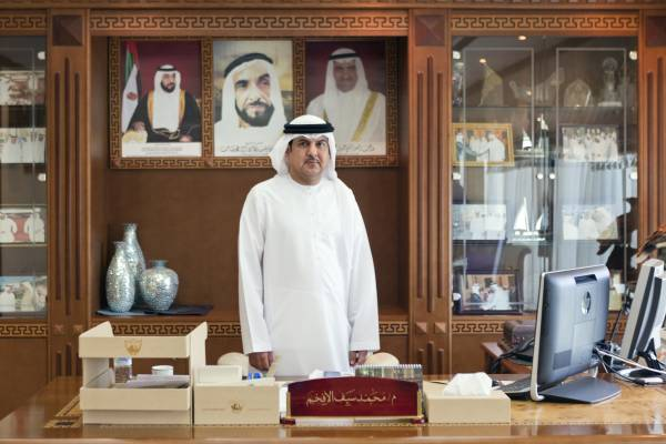 Mohammed Saif Al Afkham, director general of the Fujairah Municipality