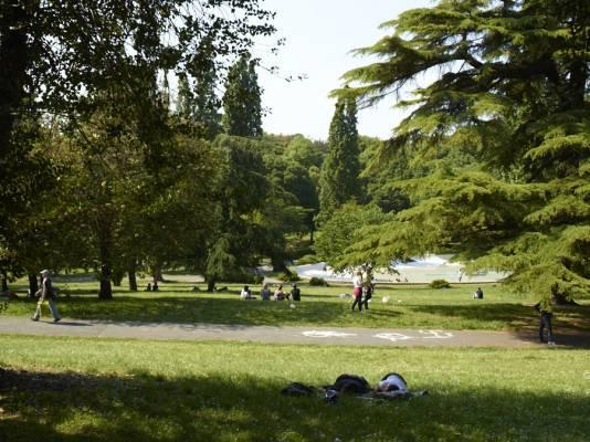 Spring time in Villa Borghese Park