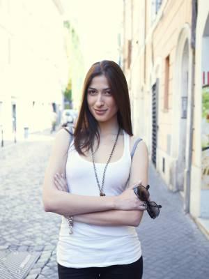 Jazz singer Lynda in Monti