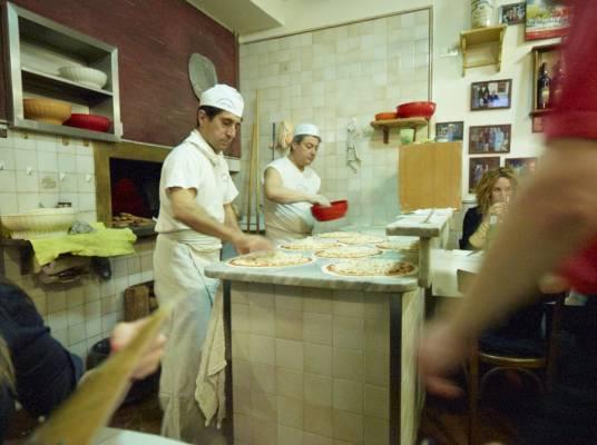 Pizzeria Baffetto in via del Governo Vecchio