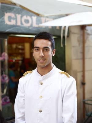 Waiter at Gelateria Giolitti