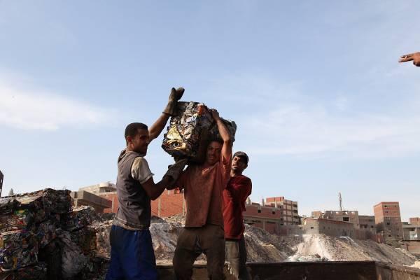 Rubbish in Cairo