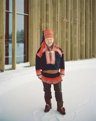 Klemetti Näkkäläjärvi, Finnish Sámi president