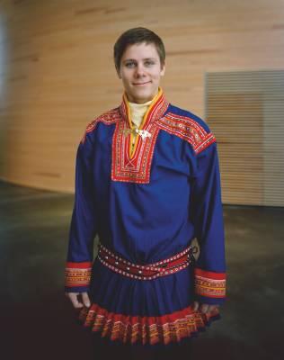 Nikholas Vakeapää, member of Finnish Sámi parliament