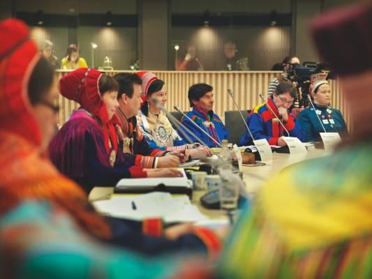 First day of the Finnish Sámi parliament
