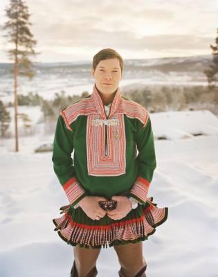 Sámi rap artist Ole Mahtte H