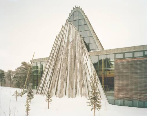 Exterior of Norweigian Sámi Parliament in Karasjok