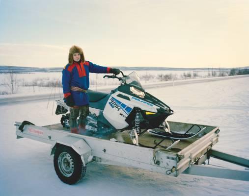 Per Anders Eira, a reindeer herder in Karasjok