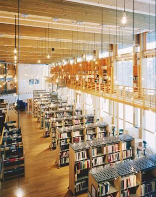 Library at the Norwegian Sámi parliament