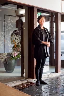 Kiya's okami (chief service manager) Mari Mori