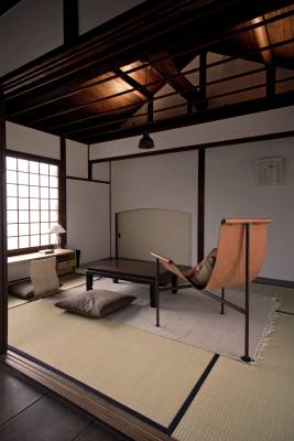 Visitors can sit but not sleep in Shiba's old room