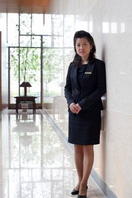 Senior manager Choi Bo-hyun, of Jack Nicklaus Golf Club
