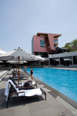 Members' families can use the facilities at Ananti, including pool