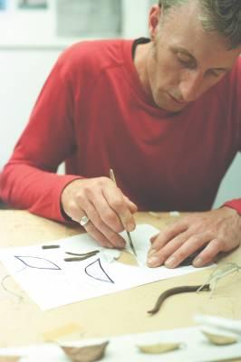 Simon Hames, co-director, Izzat Design