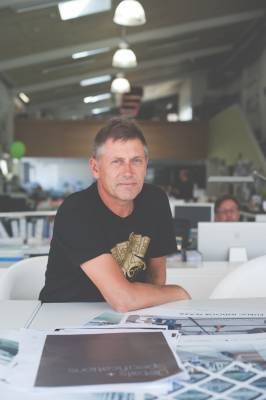 Nick Barratt-Boyes, director of Studio of Pacific Architecture
