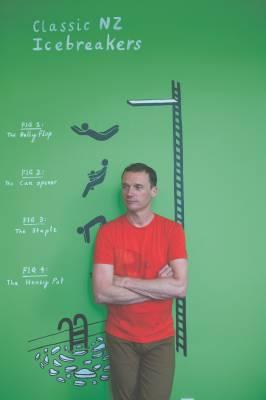 Rob Achten, Icebreaker creative director
