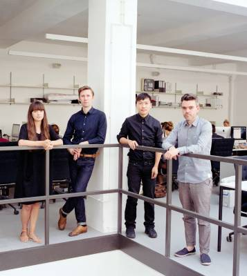 Left to right) Sonia Tomic, Richard McConkey, Sacha Leong and Jason Holle