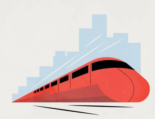 6. Improve the rail network
