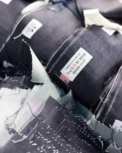 'USA Made' label at United Jeans