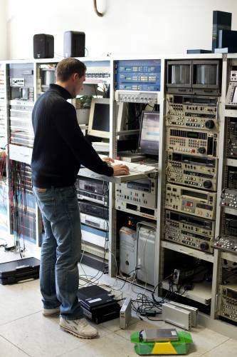 FFS's technical room in Berlin