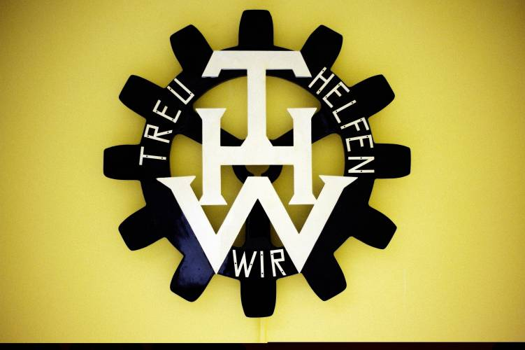 THW logo at the Berlin-Reinickendorf chapter