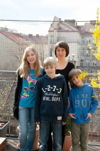 Lisa Höfling and family