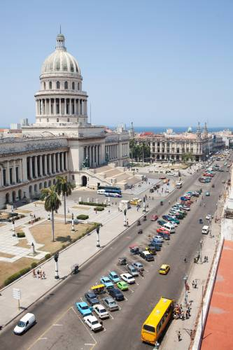 View of the Capitolio from the Saratoga