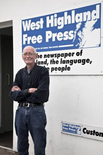Editor Ian McCormack, who has worked for the title since 1975