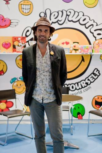 Nicolas Loufrani from Smiley World