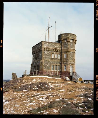 Signal Hill, where Marconi sent the first Morse code signal