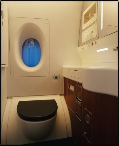 No. 16: Toilets on-board the Airbus A380