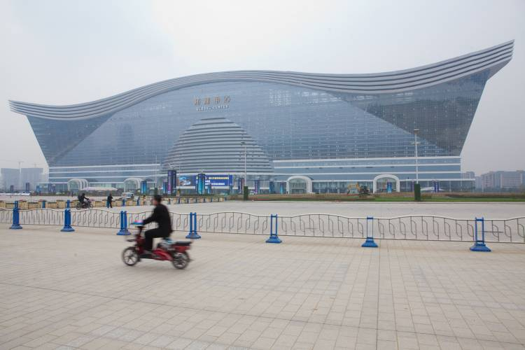 Global Centre close to Tianfu New Area, south of Chengdu