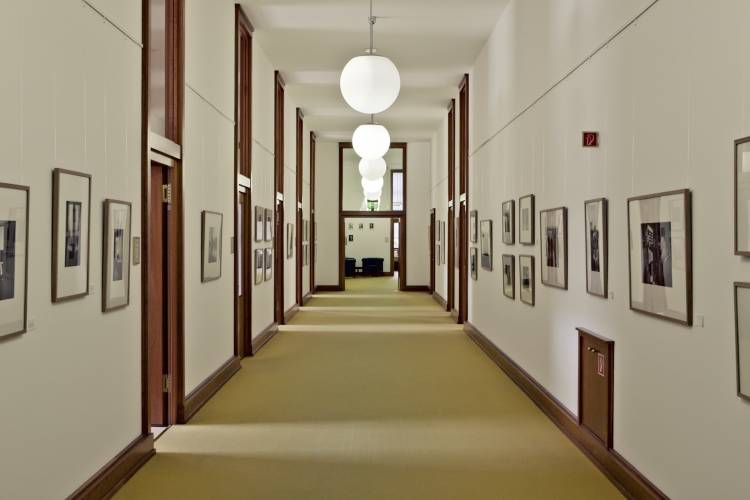 Press department hallway