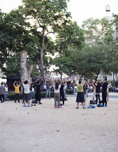 Tai Chi in Madison Square Park