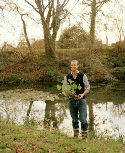 James Harper, product manager for The Wasabi Company, Dorset